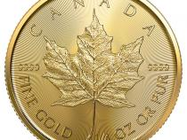 Maple Leaf Gold 1/4 Unze